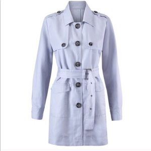 Cabi | Tanner Trench Coat size Small Gray Small